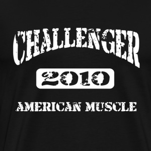 2010 Dodge Challenger Distressed Design Tshirt - Men's Premium T-Shirt