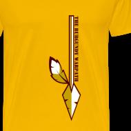 Design ~ The Burgundy Warpath Feature T-Shirt