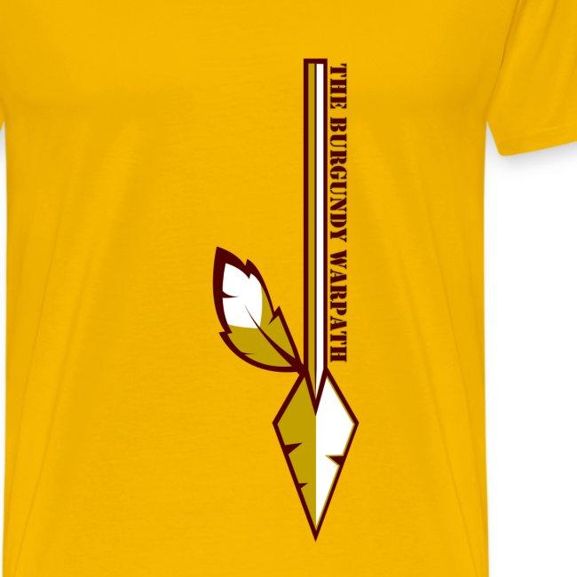The Burgundy Warpath Feature T-Shirt