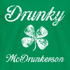 Drunky Mc St Pats T-Shirts