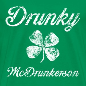 Drunky Mc St Pats T-Shirts - Men's Premium T-Shirt