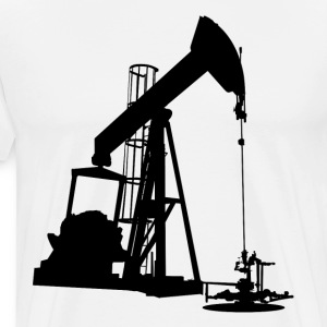 Oil Pump HD Design T-Shirts - Men's Premium T-Shirt