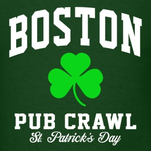 Boston Pub Crawl T-Shirts - Men's T-Shirt