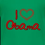 Design ~ I Heart OBAMA Kids Shirt