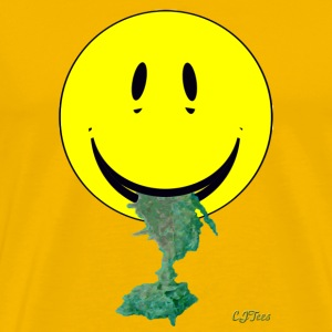 Smiley Barfing - Men's Premium T-Shirt