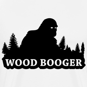 Wood Booger (Black) - Men's - Men's Premium T-Shirt