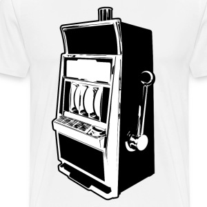 Slot Machine HD Design T-Shirts - Men's Premium T-Shirt