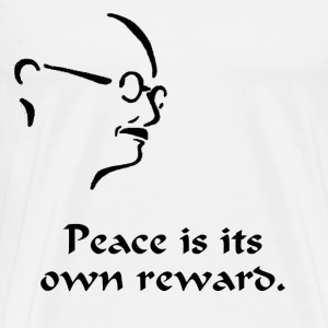 Gandhi – Peace - Men's Premium T-Shirt