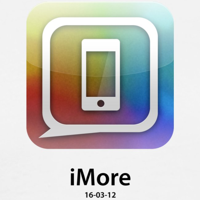"""Apple-colored ""new iPad launch"" special edition iMore shirt"""