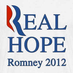 Romney Real Hope 2012 T-Shirts - Men's Premium T-Shirt