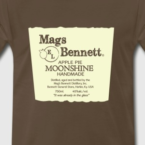 Mags Bennett Apple Pie Moonshine - Men's Premium T-Shirt