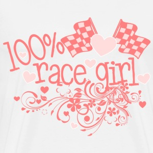 100% Race Girl - Men's Premium T-Shirt
