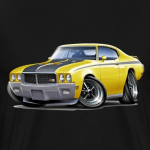 1970 Buick GSX Yellow Car T-Shirts - Men's Premium T-Shirt