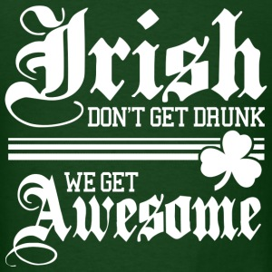 Irish Get Awesome! - Men's T-Shirt