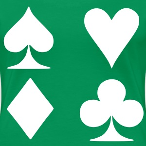 Poker card Women's Plus Size Basic T-Shirt - Women's Premium T-Shirt