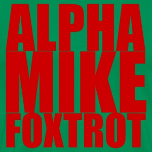 Alpha Mike Foxtrot T-Shirts - Men's Premium T-Shirt