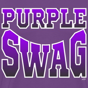 Purple $wag T-Shirts - Men's Premium T-Shirt