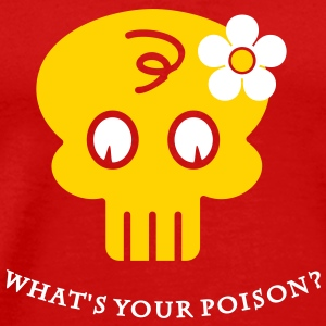 what's your poison (text, 1c) T-Shirts - Men's Premium T-Shirt