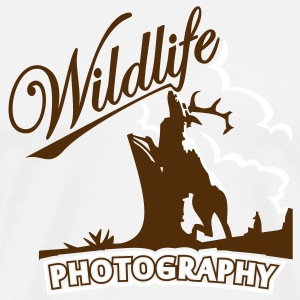 wildlife photography (2c) T-Shirts - Men's Premium T-Shirt