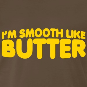 I'm Smooth Like Butter T-Shirts - Men's Premium T-Shirt
