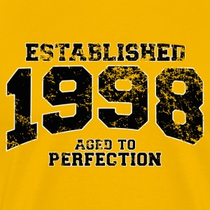 established_1998 T-Shirts - Men's Premium T-Shirt