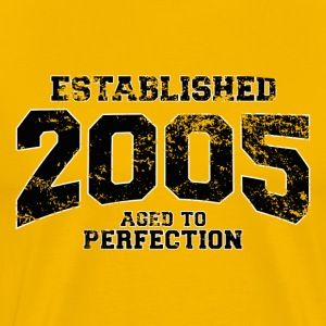 established_2005 T-Shirts - Men's Premium T-Shirt