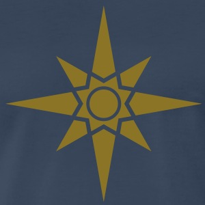 L'etoile d'Ishtar - Star Of Ishtar - Venus Star 1, Symbol of the great Babylonian Goddess of love Ishtar (Inanna), c T-shirts (manches courtes) - T-shirt premium pour hommes