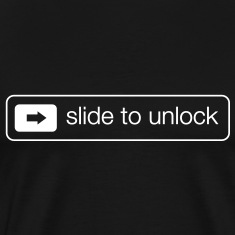 Slide to unlock T-Shirts