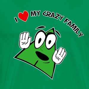 I Love My Crazy Family. TM  Mens Shirt - Men's Premium T-Shirt