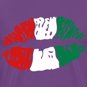Lips Kiss T-Shirts - Men's Premium T-Shirt