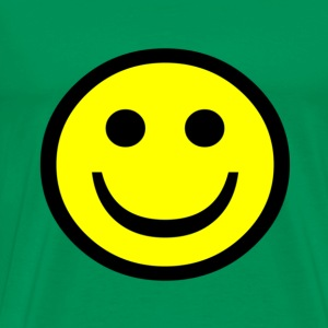 Happy smiley face - Men's Premium T-Shirt