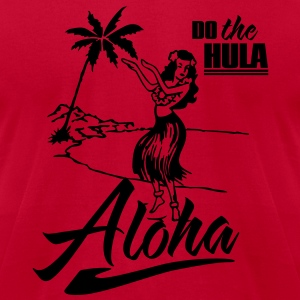 aloha - do the hula T-Shirts - Men's T-Shirt by American Apparel