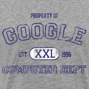 Property of Google Computer Department - Men's Premium T-Shirt