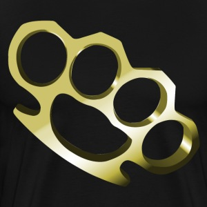 Brass Knuckles HD Design T-Shirts - Men's Premium T-Shirt