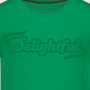 delightful with embellishment  Kids' Shirts - Kids' Premium T-Shirt