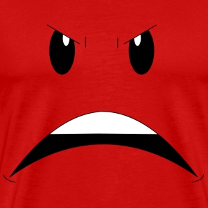 Angry Face T-Shirts - Men's Premium T-Shirt