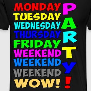 party T-Shirts - Men's Premium T-Shirt