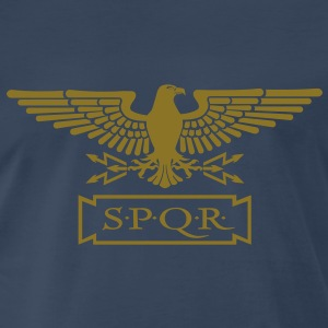 EAGLE OF S.P.Q.R. T-Shirts - Men's Premium T-Shirt
