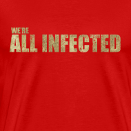 Design ~ We're All Infected - The Walking Dead | Robot Plunger
