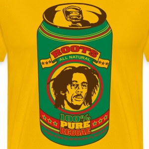 Jamai-can reggae flex T-Shirts - Men's Premium T-Shirt