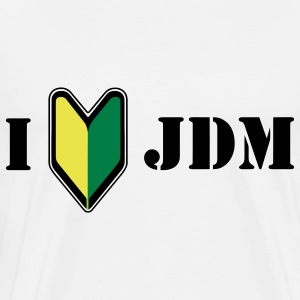 I love JDM T-Shirts - Men's Premium T-Shirt