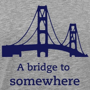Mackinac Bridge T-Shirts - Men's Premium T-Shirt