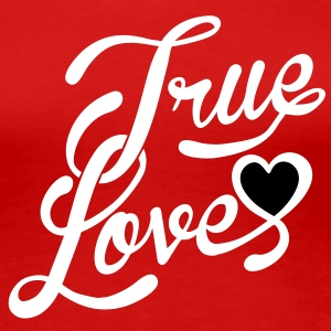 true love Women's T-Shirts - Women's Premium T-Shirt