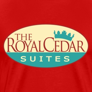 The Royal Cedar Suites - Men's Premium T-Shirt