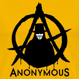 Anonymous Vendetta 2c T-Shirts - Men's Premium T-Shirt