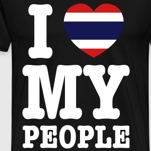 I Heart (Love) My Thai People T-Shirts - Men's Premium T-Shirt
