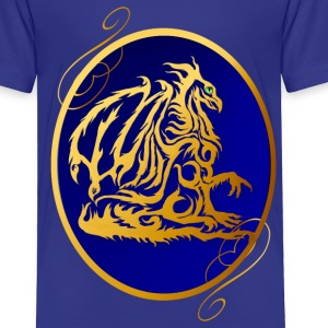 Gold Dragon 2  - Toddler Premium T-Shirt