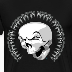 Laughing Death's Head Official Logo Shirt