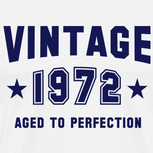 VINTAGE 1972 - Birthday T-Shirt MY - Men's Premium T-Shirt