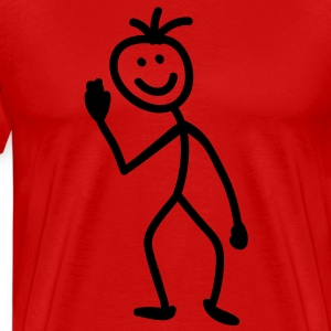 stick_figure_1c T-Shirts - Men's Premium T-Shirt